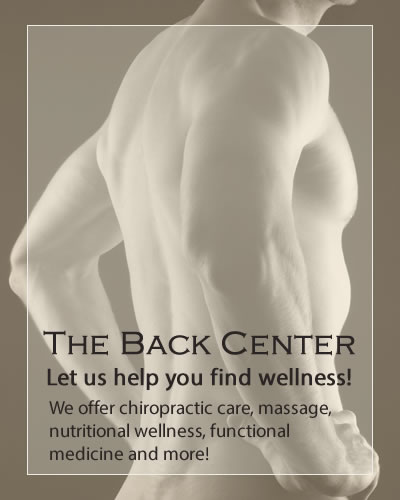 Welcome to the Back Center Chiropractor in Casper, Wyoming